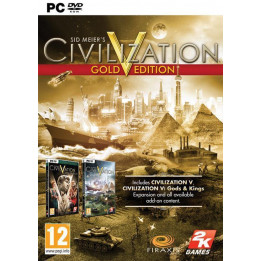 Coperta CIVILIZATION 5 GOLD EDITION - PC