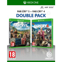 Coperta COMPILATION FAR CRY 4 & FAR CRY 5 - XBOX ONE