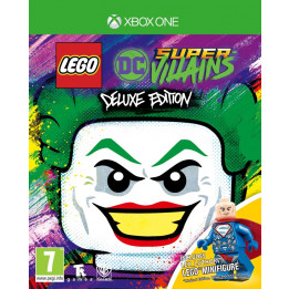 Coperta LEGO DC SUPERVILLAINS DELUXE EDITION - XBOX ONE