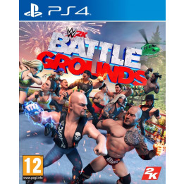 Coperta WWE 2K BATTLEGROUNDS - PS4