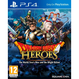 Coperta DRAGON QUEST HEROES - PS4