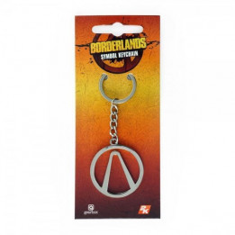 BORDERLANDS SYMBOL KEYCHAIN