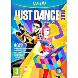 Coperta JUST DANCE 2016 UNLIMITED - WII U
