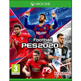 Coperta PRO EVOLUTION SOCCER 2020 - XBOX ONE