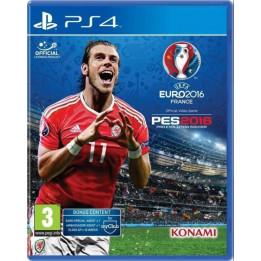 Coperta PRO EVOLUTION SOCCER 2016 UEFA EURO 2016 - PS4