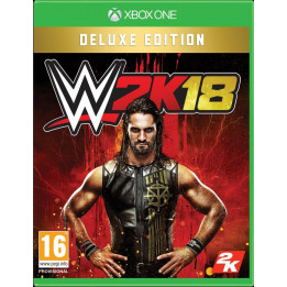Coperta WWE 2K18 DELUXE EDITION - XBOX ONE