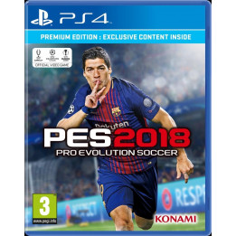 Coperta PRO EVOLUTION SOCCER 2018 PREMIUM EDITION - PS4
