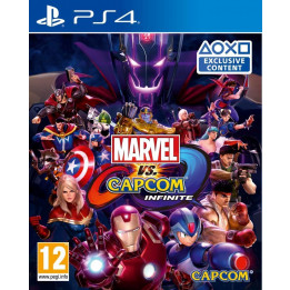 Coperta MARVEL VS CAPCOM INFINITE - PS4