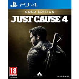Coperta JUST CAUSE 4 GOLD EDITION - PS4